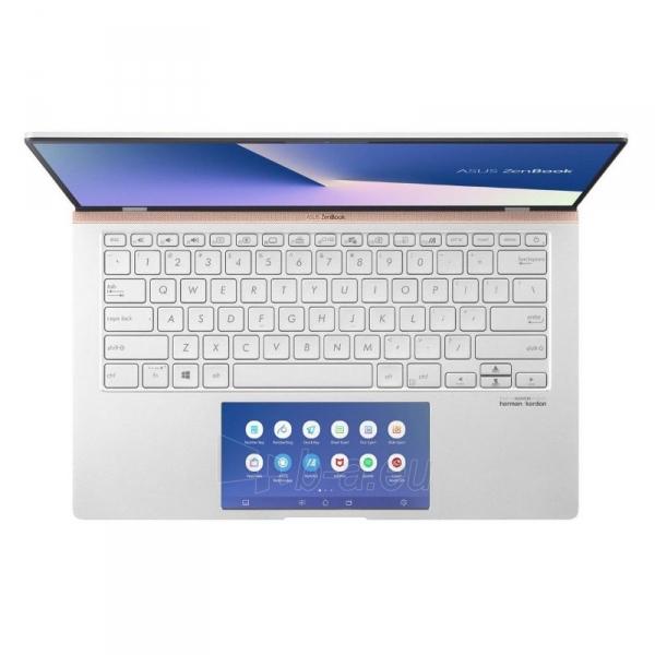 Nešiojamas kompiuteris UX434FLC Silver i7-10510U/14F/16/1TB/MX250/W10 Paveikslėlis 3 iš 4 310820216561