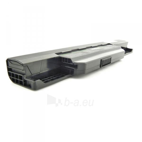 Nešiojamo kompiuterio baterija Qoltec Asus K53 A32-K53, 11.1V, 5200mAh Paveikslėlis 2 iš 5 310820005329