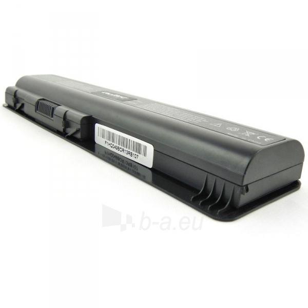 Nešiojamo kompiuterio baterija Qoltec HP CQ40/45, 10.8V, 4400mAh Paveikslėlis 4 iš 5 250254100575