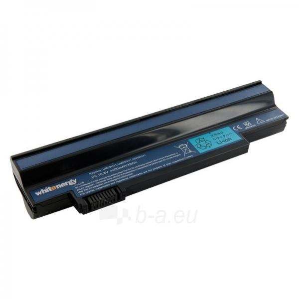 Nešiojamo kompiuterio baterija Whitenergy Acer Aspire 532h 10.8V 4400mAh juoda Paveikslėlis 1 iš 7 250254100460