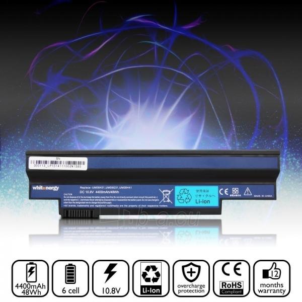Nešiojamo kompiuterio baterija Whitenergy Acer Aspire 532h 10.8V 4400mAh juoda Paveikslėlis 7 iš 7 250254100460