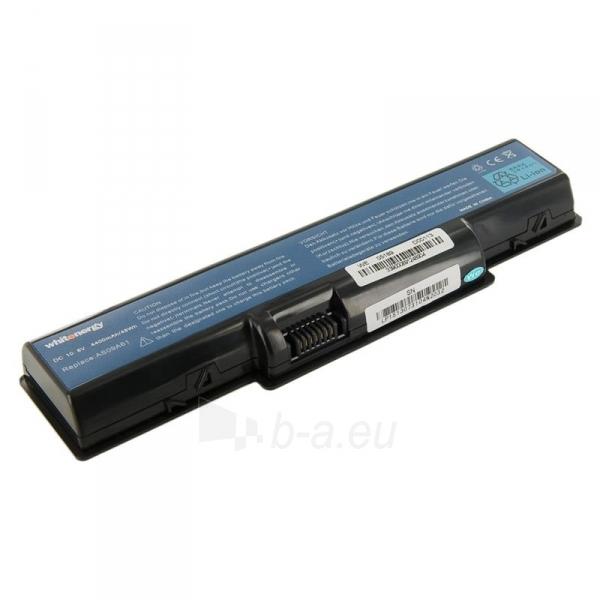 Nešiojamo kompiuterio baterija Whitenergy Acer Aspire 5732Z 11.1V 4400mAh Paveikslėlis 1 iš 6 310820005320