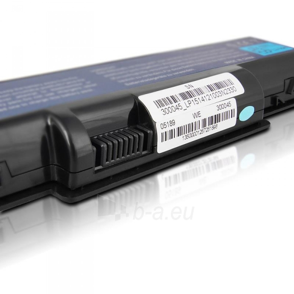 Nešiojamo kompiuterio baterija Whitenergy Acer Aspire 5732Z 11.1V 4400mAh Paveikslėlis 5 iš 6 310820005320
