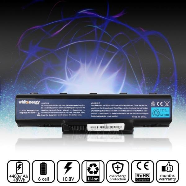 Nešiojamo kompiuterio baterija Whitenergy Acer Aspire 5732Z 11.1V 4400mAh Paveikslėlis 6 iš 6 310820005320