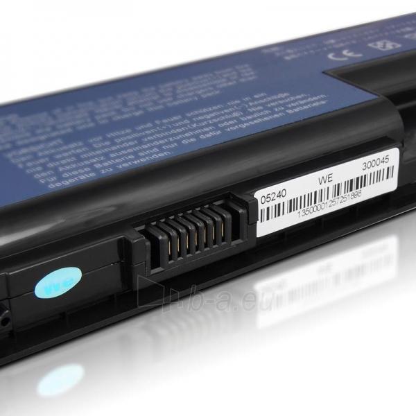Nešiojamo kompiuterio baterija Whitenergy Acer Aspire 5920 14.8V 4400mAh Paveikslėlis 5 iš 6 250254100463