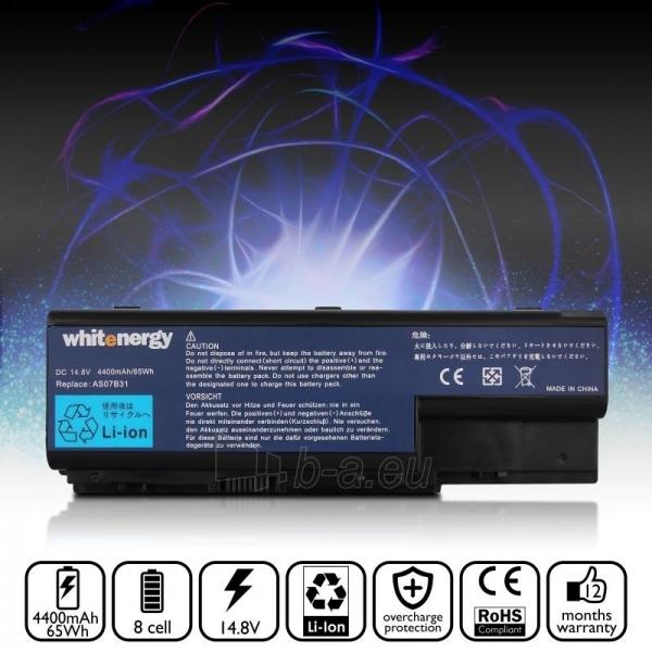 Nešiojamo kompiuterio baterija Whitenergy Acer Aspire 5920 14.8V 4400mAh Paveikslėlis 6 iš 6 250254100463