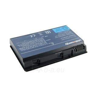 Nešiojamo kompiuterio baterija Whitenergy Acer TravelMate 6410 11.1V 4400mAh Paveikslėlis 1 iš 7 250254100472