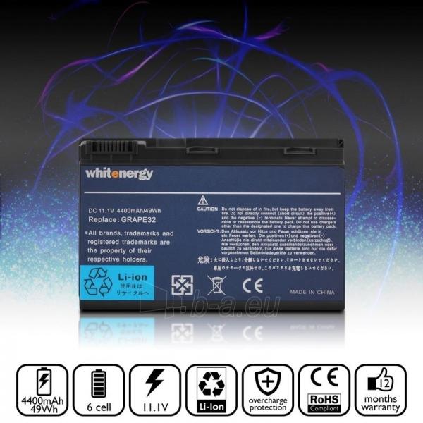 Nešiojamo kompiuterio baterija Whitenergy Acer TravelMate 6410 11.1V 4400mAh Paveikslėlis 5 iš 7 250254100472