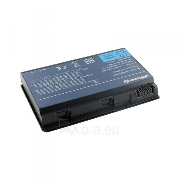 Nešiojamo kompiuterio baterija Whitenergy Acer TravelMate 6410 5200mAh 11.1V Paveikslėlis 1 iš 3 310820005310