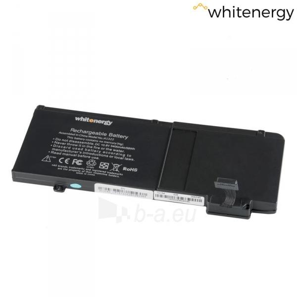 Nešiojamo kompiuterio baterija Whitenergy Apple MacBook A1322 10.8V 5400mAh Paveikslėlis 1 iš 6 310820005386