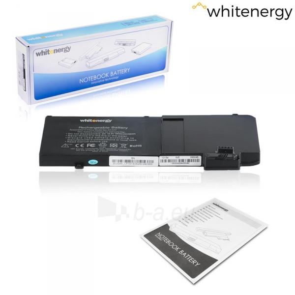 Nešiojamo kompiuterio baterija Whitenergy Apple MacBook A1322 10.8V 5400mAh Paveikslėlis 5 iš 6 310820005386
