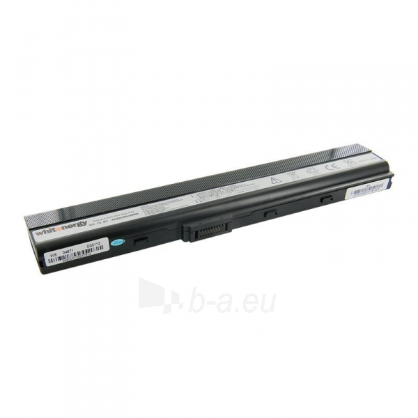 Nešiojamo kompiuterio baterija Whitenergy Asus A32-K52 10.8V 4400mAh Paveikslėlis 1 iš 6 250254100486