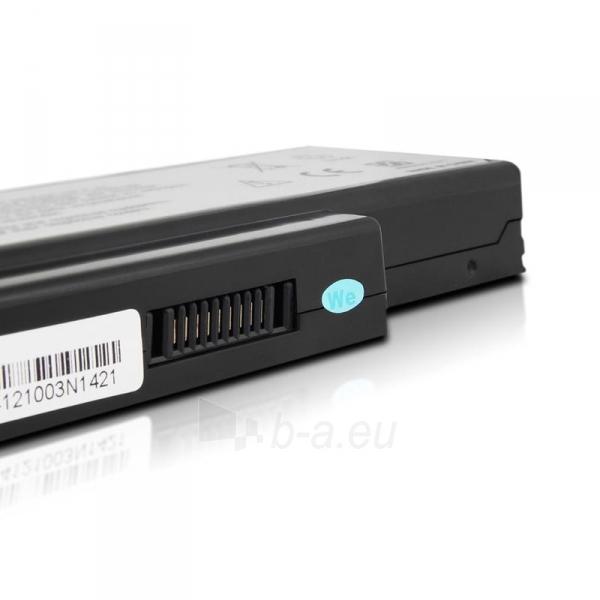 Nešiojamo kompiuterio baterija Whitenergy Asus A32-K72 11.1V 4400mAh juoda Paveikslėlis 5 iš 6 250254100732