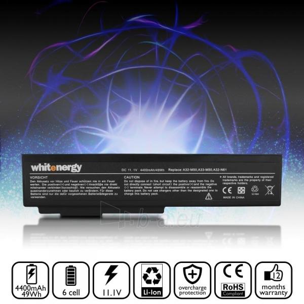 Nešiojamo kompiuterio baterija Whitenergy Asus A32-M50 11.1V 4400mAh Paveikslėlis 7 iš 7 310820005312
