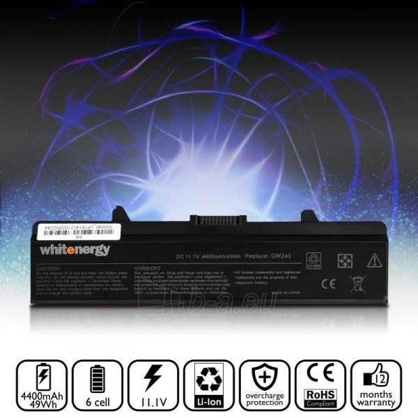 Nešiojamo kompiuterio baterija Whitenergy Dell Inspiron 1525 11.1V 4400mAh Paveikslėlis 6 iš 6 310820005302