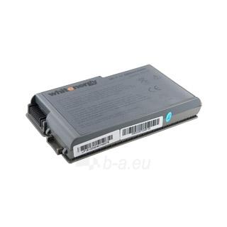 Nešiojamo kompiuterio baterija Whitenergy Dell Latitude D500 11.1V 5200mAh Paveikslėlis 1 iš 3 250254100530