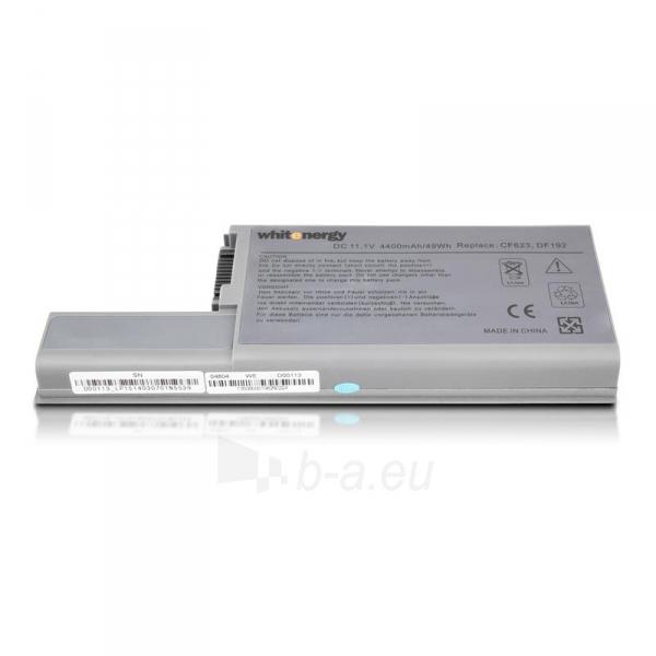 Nešiojamo kompiuterio baterija Whitenergy Dell Latitude D820 11.1V 4400mAh Paveikslėlis 2 iš 8 250254100535