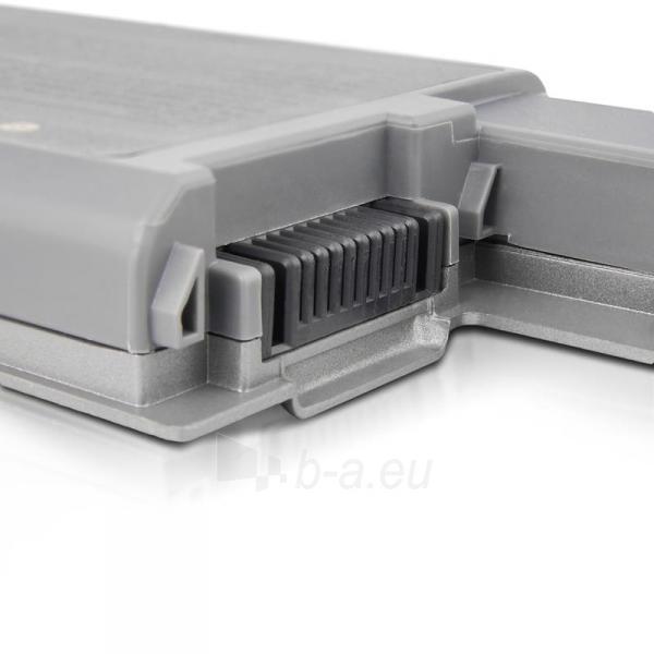Nešiojamo kompiuterio baterija Whitenergy Dell Latitude D820 11.1V 4400mAh Paveikslėlis 6 iš 8 250254100535