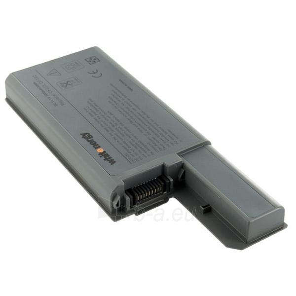 Nešiojamo kompiuterio baterija Whitenergy Dell Latitude D820 11.1V 5200mAh Paveikslėlis 1 iš 8 250254100536