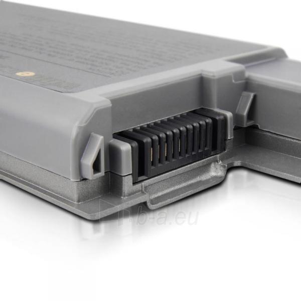 Nešiojamo kompiuterio baterija Whitenergy Dell Latitude D820 11.1V 5200mAh Paveikslėlis 6 iš 8 250254100536
