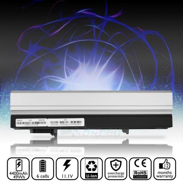Nešiojamo kompiuterio baterija Whitenergy Dell Latitude E4300 E4310 11.1V 4400 Paveikslėlis 5 iš 7 310820005321