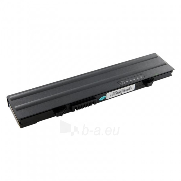 Nešiojamo kompiuterio baterija Whitenergy Dell Latitude E5500 11.1V 4400mAh Paveikslėlis 2 iš 7 250254100587
