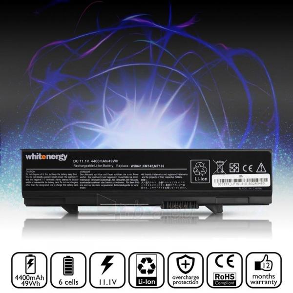 Nešiojamo kompiuterio baterija Whitenergy Dell Latitude E5500 11.1V 4400mAh Paveikslėlis 5 iš 7 250254100587