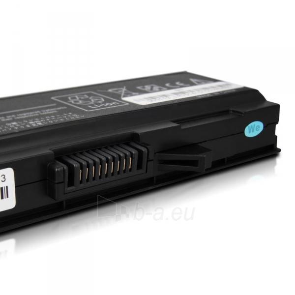 Nešiojamo kompiuterio baterija Whitenergy Dell Latitude E5500 11.1V 4400mAh Paveikslėlis 6 iš 7 250254100587