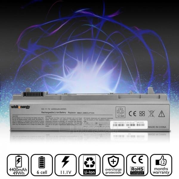 Nešiojamo kompiuterio baterija Whitenergy Dell Latitude E6500 11.1V 4400mAh Paveikslėlis 5 iš 7 250254100589