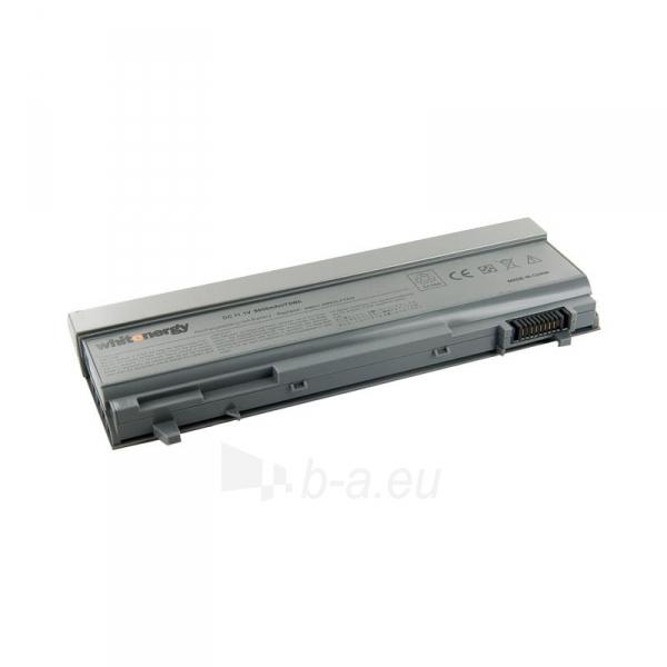 Nešiojamo kompiuterio baterija Whitenergy Dell Latitude E6500 11.1V 6600mAh Paveikslėlis 1 iš 7 250254100590