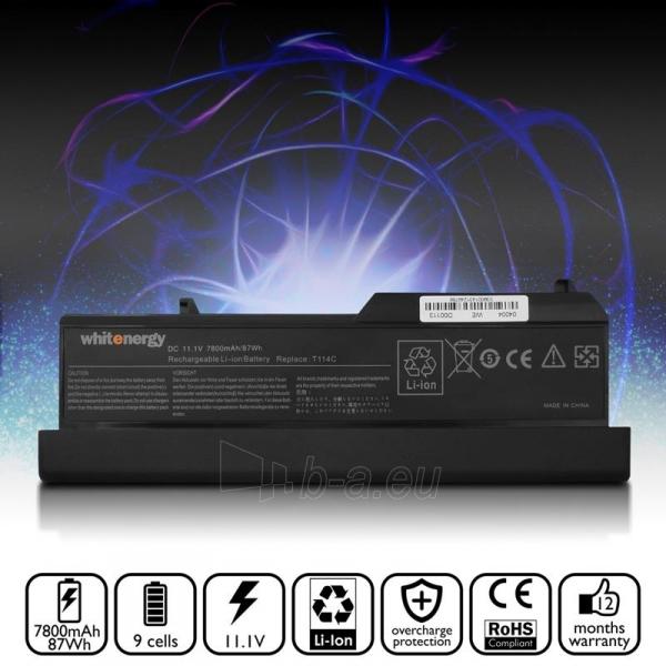 Nešiojamo kompiuterio baterija Whitenergy Dell Vostro 1310 11.1V 7800mAh Paveikslėlis 5 iš 6 250254100598