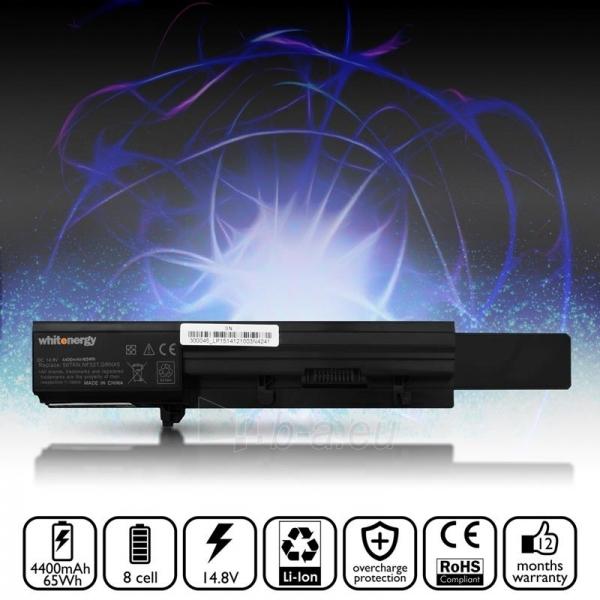 Nešiojamo kompiuterio baterija Whitenergy Dell Vostro 3300 / 3350 14.8V 4400mAh Paveikslėlis 5 iš 6 250254100603