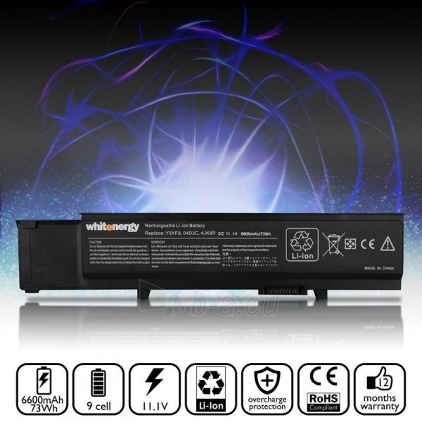 Nešiojamo kompiuterio baterija Whitenergy Dell Vostro 3400 / 3500 / 3700 11.1V 6 Paveikslėlis 5 iš 7 310820005319