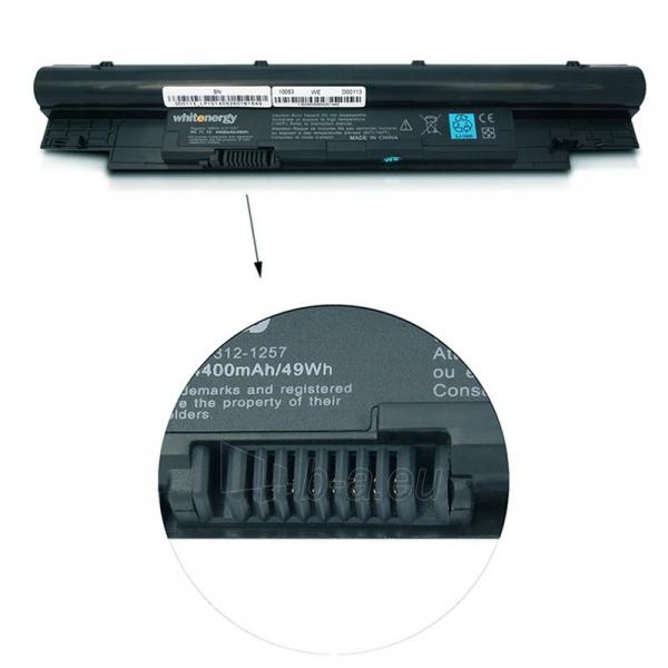 Nešiojamo kompiuterio baterija Whitenergy Dell Vostro V131 series H7XW11.1V 4400 Paveikslėlis 4 iš 4 310820005378