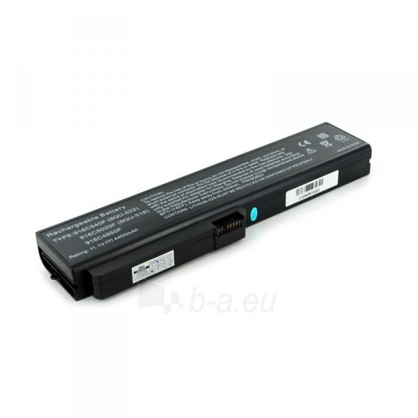 Nešiojamo kompiuterio baterija Whitenergy Fujitsu Amilo V3205 11.1V 4400mAh Paveikslėlis 1 iš 2 250254100747
