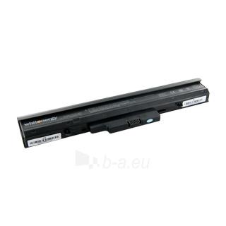 Nešiojamo kompiuterio baterija Whitenergy HP Compaq 510 14.8V 4400mAh Paveikslėlis 1 iš 6 250254100624