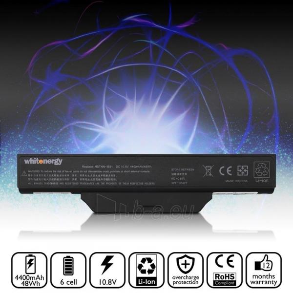 Nešiojamo kompiuterio baterija Whitenergy HP Compaq 6720 10.8V 4400mAh Paveikslėlis 5 iš 7 310820005304