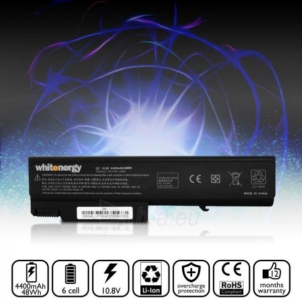Nešiojamo kompiuterio baterija Whitenergy HP Compaq 6730B 10.8V 4400mAh Paveikslėlis 6 iš 6 250254100626