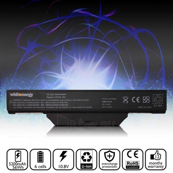 Nešiojamo kompiuterio baterija Whitenergy HP Compaq Business 6720 10.8V 5200 Paveikslėlis 5 iš 6 310820005314