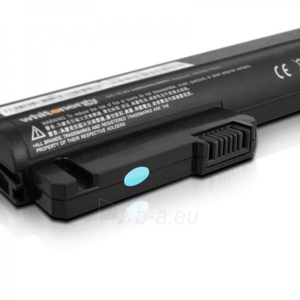 Nešiojamo kompiuterio baterija Whitenergy HP Compaq NC2400 10.8V 4400mAh Paveikslėlis 5 iš 7 250254100632
