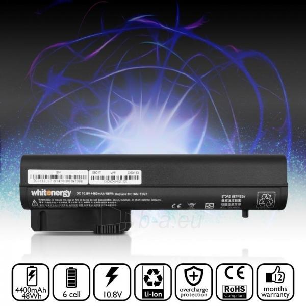 Nešiojamo kompiuterio baterija Whitenergy HP Compaq NC2400 10.8V 4400mAh Paveikslėlis 7 iš 7 250254100632