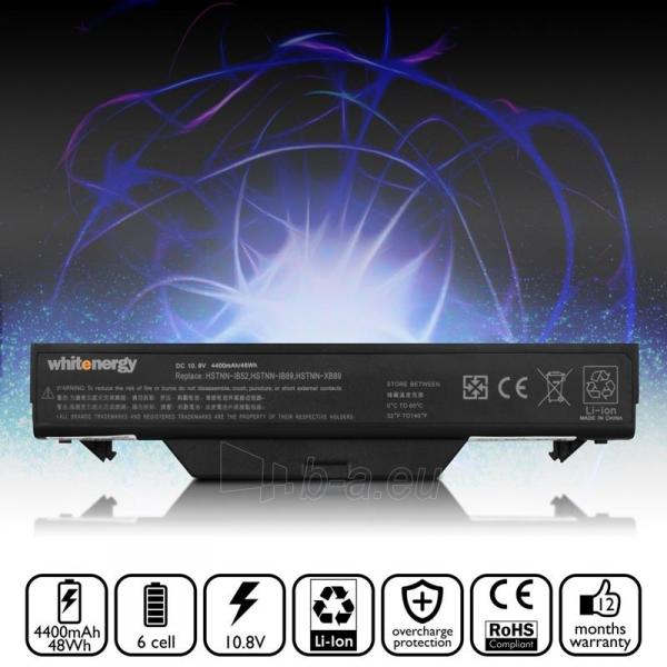 Nešiojamo kompiuterio baterija Whitenergy HP ProBook 4710 10.8V 4400mAh Paveikslėlis 5 iš 6 310820005313