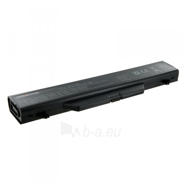 Nešiojamo kompiuterio baterija Whitenergy HP ProBook 4710 14.4V 5200mAh Paveikslėlis 1 iš 3 310820005348