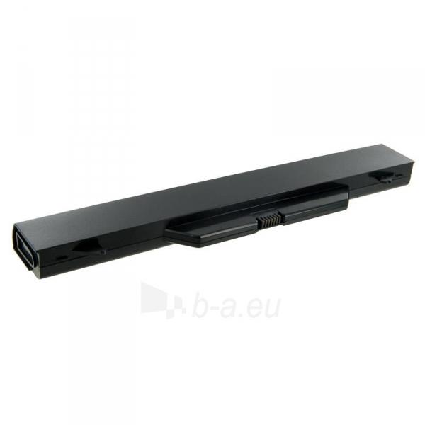 Nešiojamo kompiuterio baterija Whitenergy HP ProBook 4710 14.4V 5200mAh Paveikslėlis 2 iš 3 310820005348