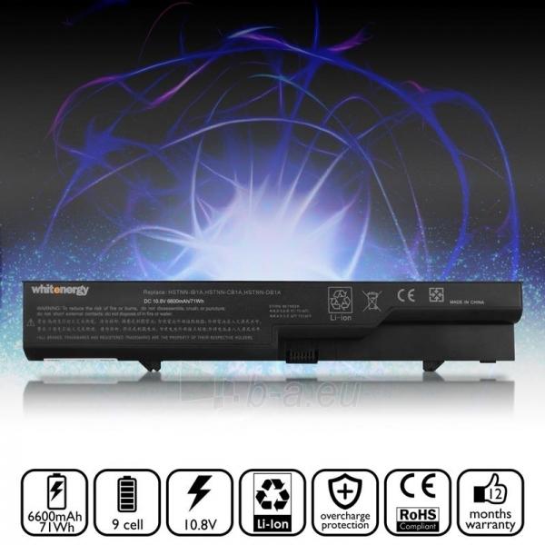 Nešiojamo kompiuterio baterija Whitenergy HP ProBook 4725s 11.1V 6600mAh Paveikslėlis 5 iš 7 250254100659