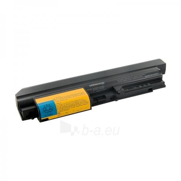 Nešiojamo kompiuterio baterija Whitenergy Lenovo ThinkPad R61i 14 10.8V 4400 Paveikslėlis 1 iš 7 250254100673