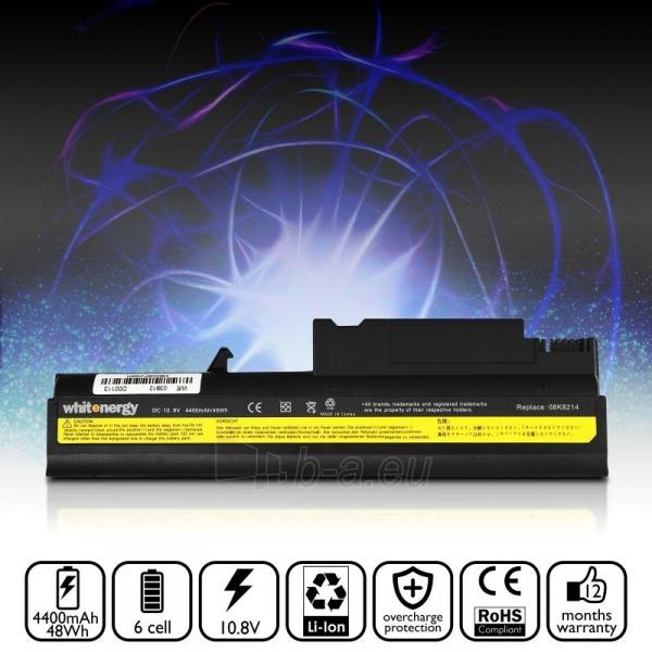 Nešiojamo kompiuterio baterija Whitenergy Lenovo ThinkPad T40 10.8V  4400mAh Paveikslėlis 7 iš 7 250254100675
