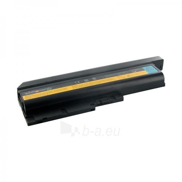 Nešiojamo kompiuterio baterija Whitenergy Lenovo ThinkPad T60 10.8V 6600mAh Paveikslėlis 1 iš 3 250254100677