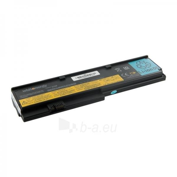 Nešiojamo kompiuterio baterija Whitenergy Lenovo ThinkPad X200 10.8V 4400mAh Paveikslėlis 1 iš 8 250254100679