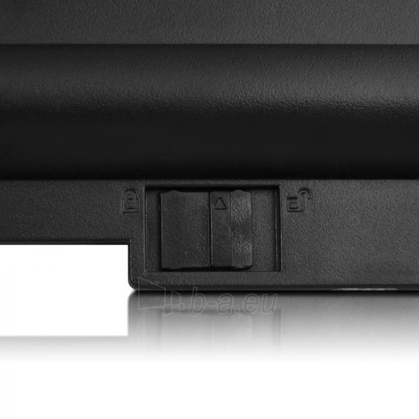 Nešiojamo kompiuterio baterija Whitenergy Lenovo ThinkPad X200 10.8V 4400mAh Paveikslėlis 7 iš 8 250254100679